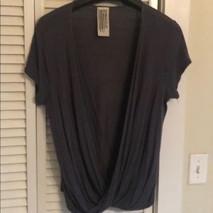 Women's Free People front wrap top